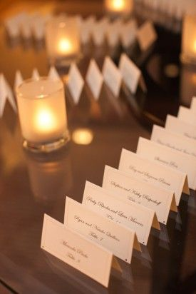 escort cards | amanda jayne events blog