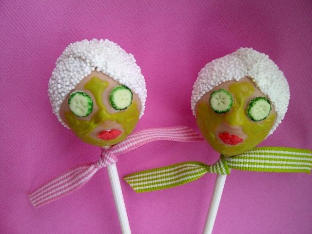 spa cake pops | amanda jayne events blog