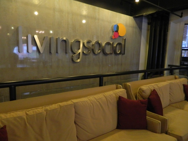 livingsocial 918 f street in washington, DC | amanda jayne events blog