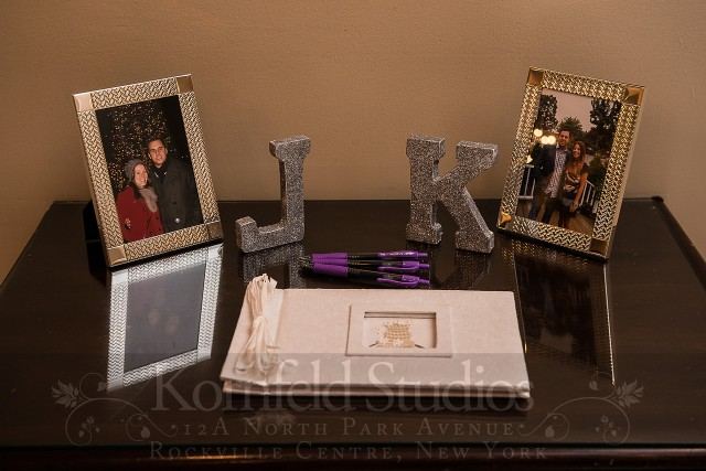guest book & sparkly monogram by kornfeld photography | amanda jayne events blog