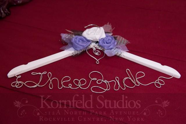 bridal gown hanger by kornfeld photography | amanda jayne events blog