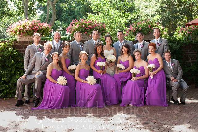 jenna & kenny's romatic garden wedding by kornfeld photography | amanda jayne events blog