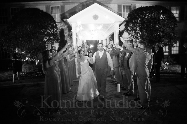 sparkler exit by kornfeld photography | amanda jayne events blog