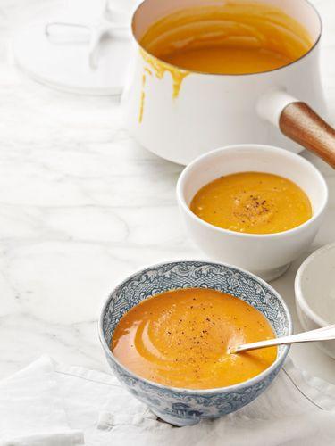 harvesy pumpkin soup