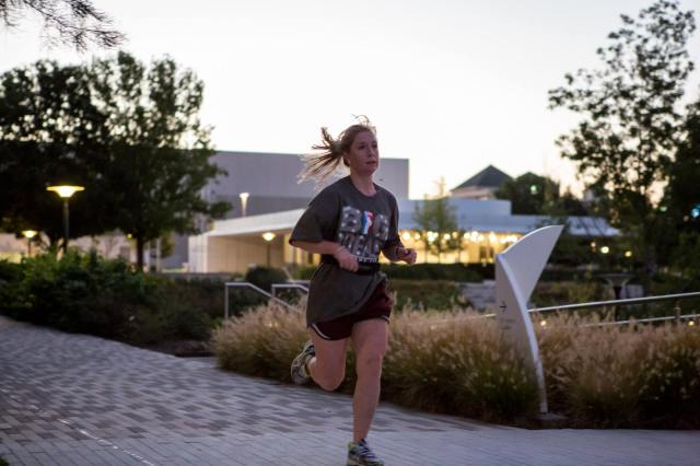 Planning a 5K | myriad botanical gardens in oklahoma city