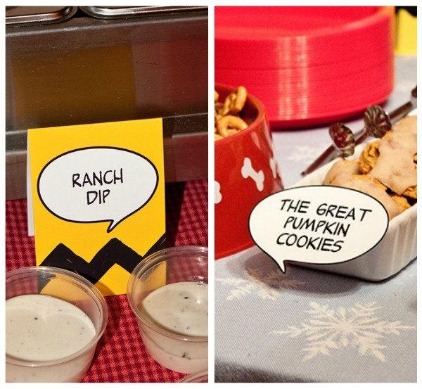 peanuts food labels