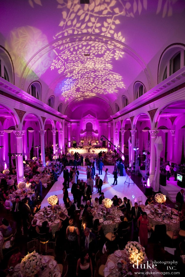 lighting for weddings and events