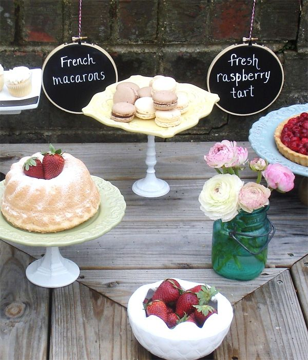 Fun and creative ways to label food on buffets planning for Another word for food decoration