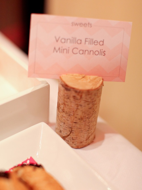 creative cork buffet label