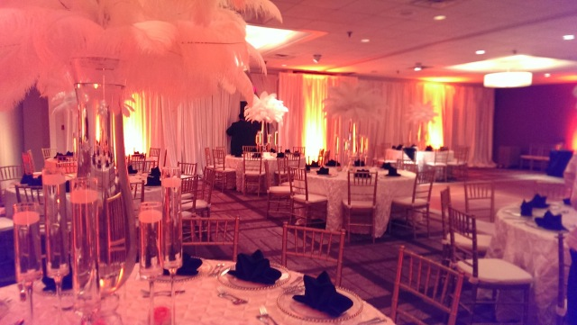 hyatt arlington transformed for a wedding