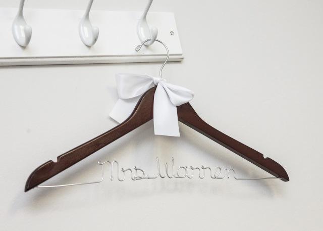 bridal gown hanger
