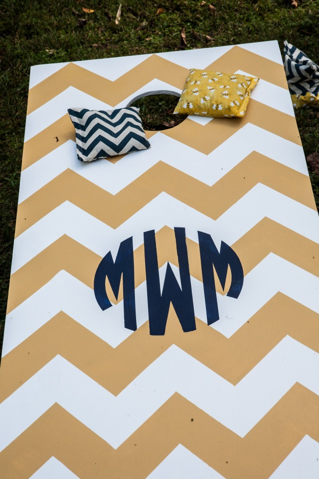 personalized wedding cornhole