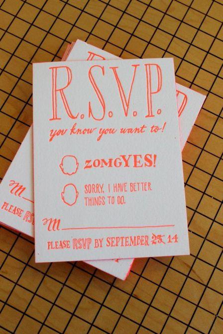 rsvp etiquette
