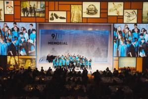 children's choir at 9/11 Memorial Gala