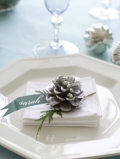 winter white tables ideas