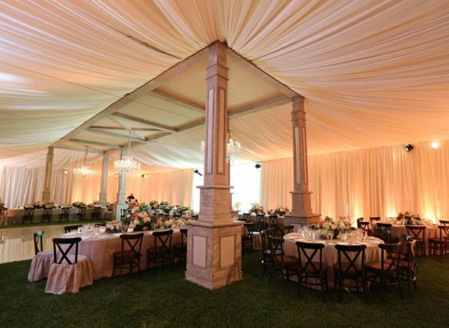 gorgeous tent at the ojai resort