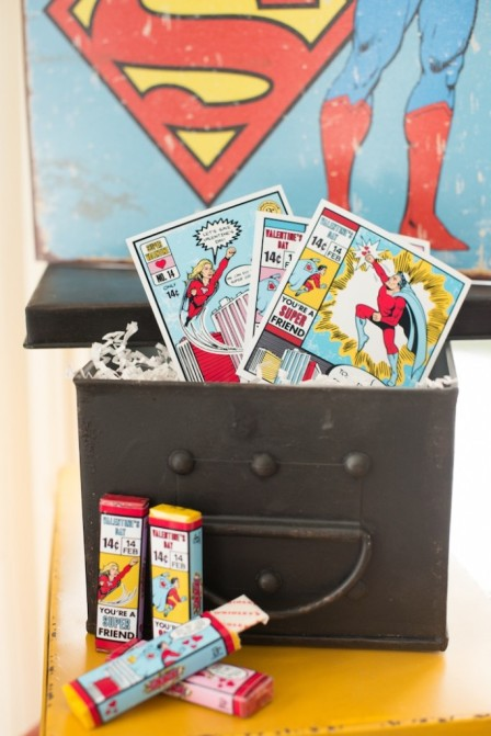 Superhero Valentine's Party for Children